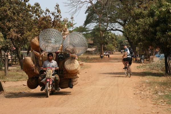 Das Mofa ist DAS Transportmittel