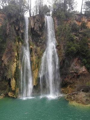 Ein heimlicher Wasserfall in Frankreich