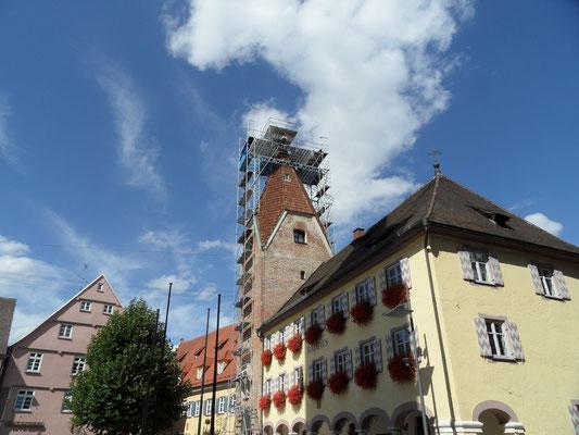Sonderkonstruktion Torbogen Weißenhorn