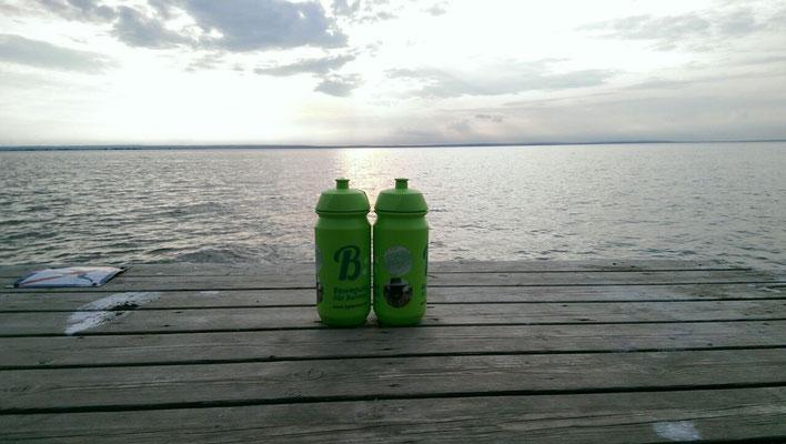 ISG Fahrradflaschen-Idylle am Vätternsee in Schweden