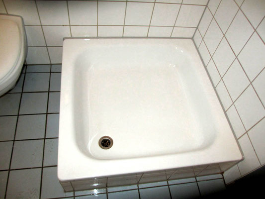 Duschkabine saniert