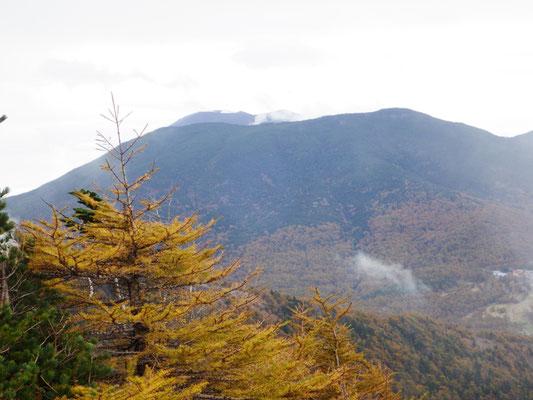 浅間山も見えました。