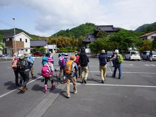 大子町営無料駐車場よりスタートです。