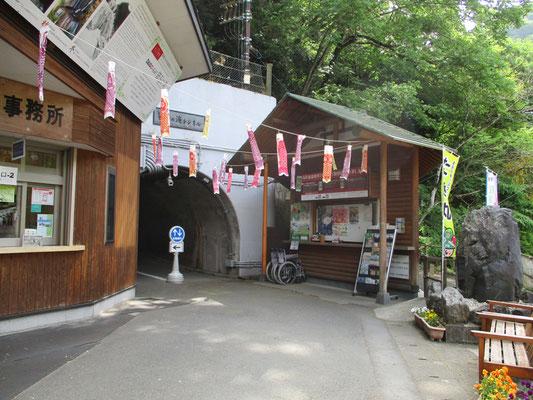 袋田の滝入口です。有料です。