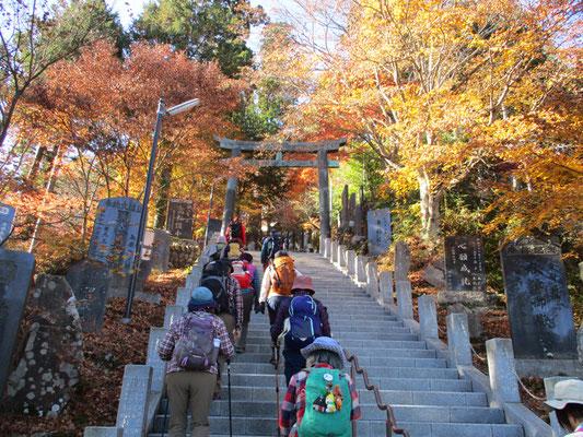 階段は約300段。