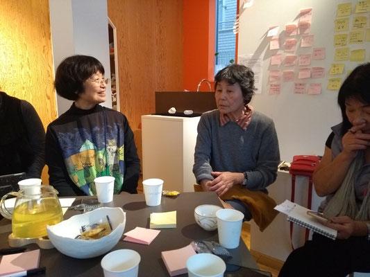 Symposium Chikako und Masko
