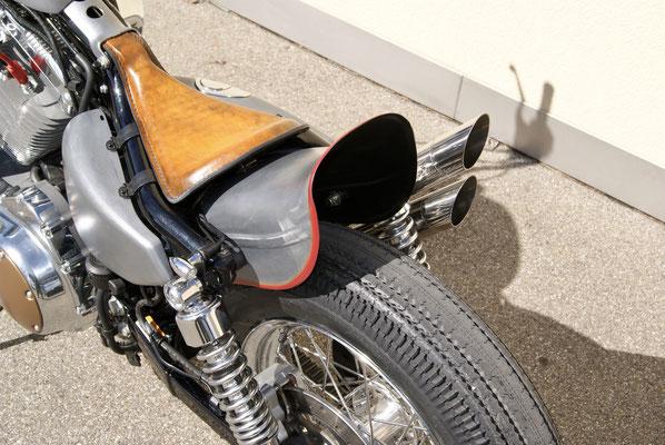 Harley Davidson Sporster Frisco Chopper with Firestone