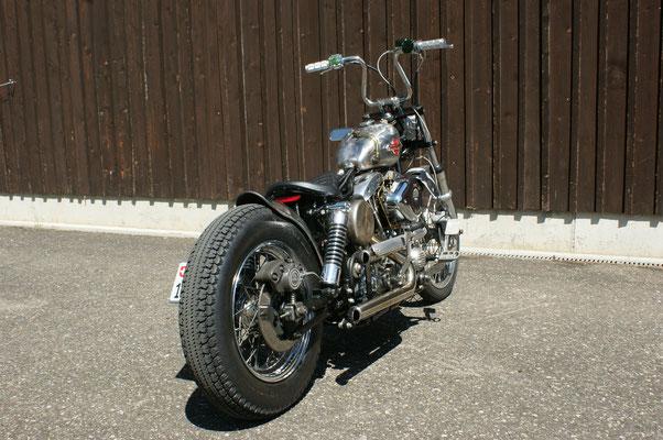 Harley Davidson Shovelhead Chopper FLH 1340 with BSL Exhaust