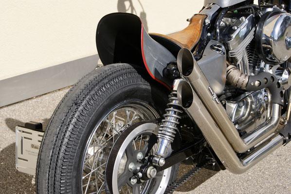 Harley Davidson Sporster Frisco Chopper with BSL-Exhaust