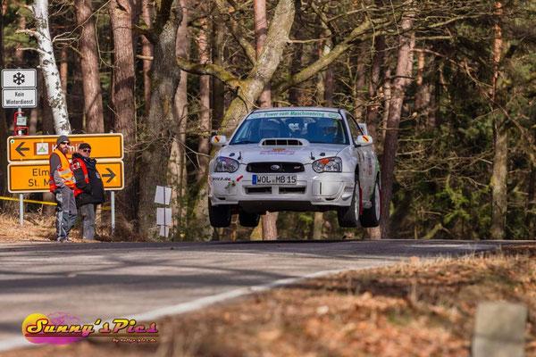 Manfred Bannwarth/Bernd Rieth wurden 22. in der Gesamtwertung und 9. in der Klasse NC1