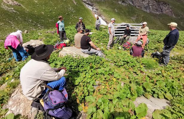 2. Tag: Aufstieg zur Alp