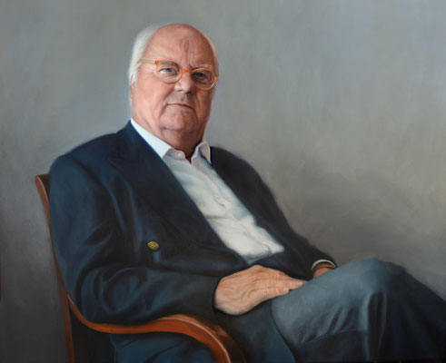 C.G.B. 80x100, Private Collection, Öl auf Leinwand, 2016