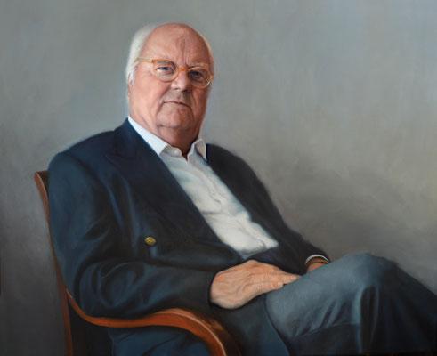 C.G.B. 80x100, Private Collection, Öl auf Leinwand, 2016