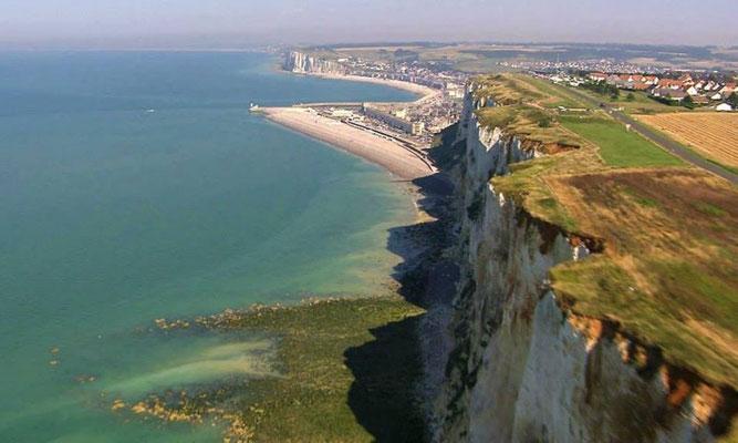 Les plus hautes falaises de craie d'Europe