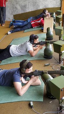 Zwei Schützen mit gutem Trefferverständnis.
