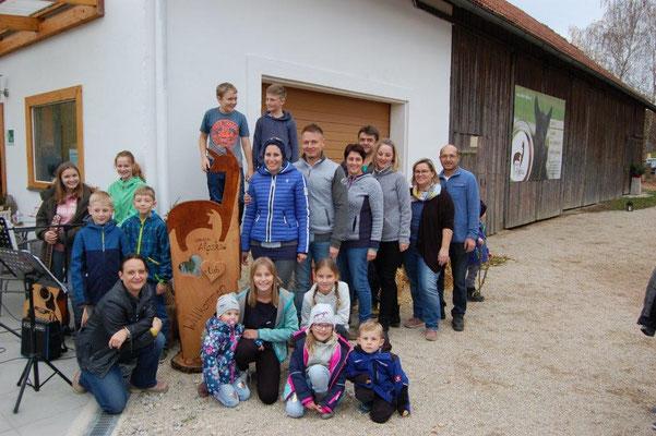 Und so konnten wir sehr stolz unseren Hofladen am 16.11. offiziell eröffnen!