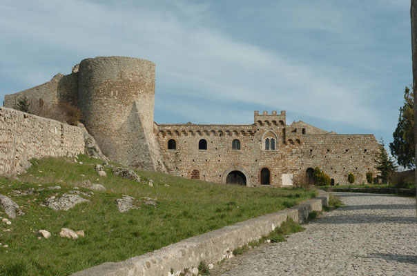 A castle in the Daunia part of Puglia
