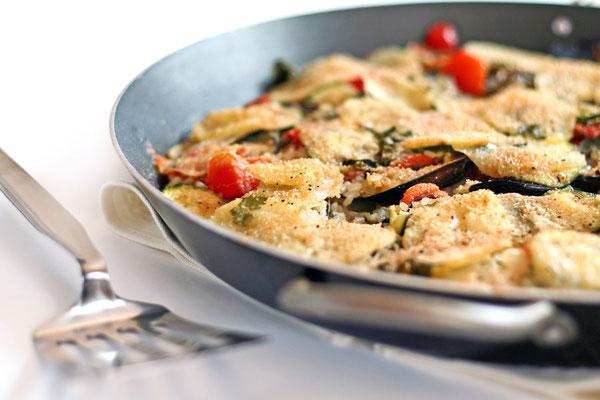 """""""Patate, riso e cozze"""", distinctive dish of Puglia"""