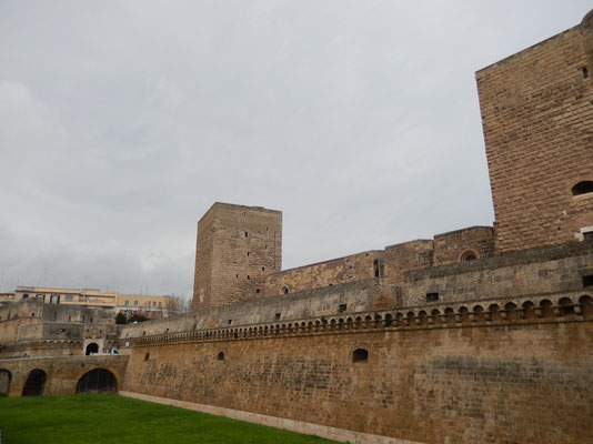 Bari, the Swabian, Aragonese Castle