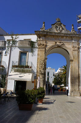 Martina Franca, the door to the old town