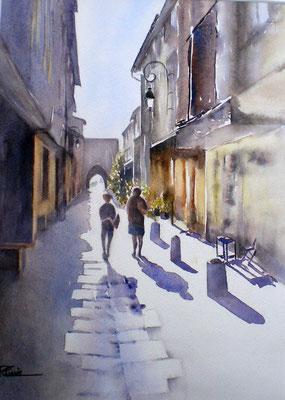 Rue Porte d'Aval - 65x66  - non disponible