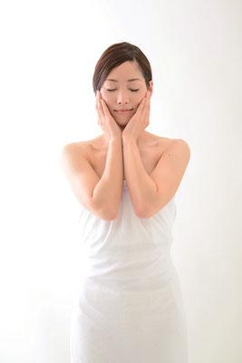 お肌と心身のリフレッシュからつくられる真珠肌