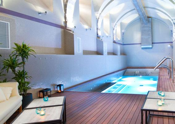 Unicolor piscina de Hisbalit