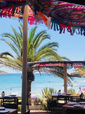 Beachclub auf Ibiza