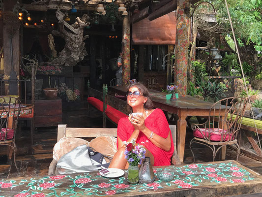 Bohemian Surrounding auf Bali