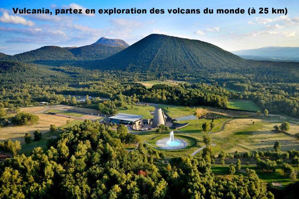 Vulcania, partez en exploration des volcans du monde (à 25 km)