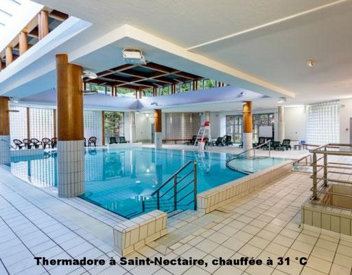 Thermadore à Saint-Nectaire, chauffée à 31 °C