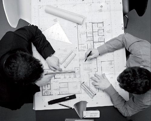 Büroplanung und Innenarchitektur