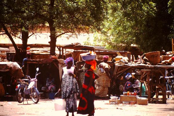 Markt in Niamey.