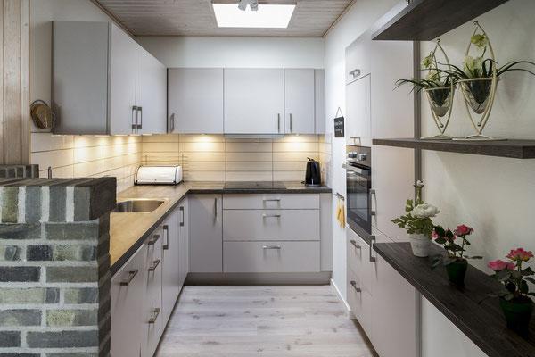 Ferienhaus in Blavand Dänemark, Küche