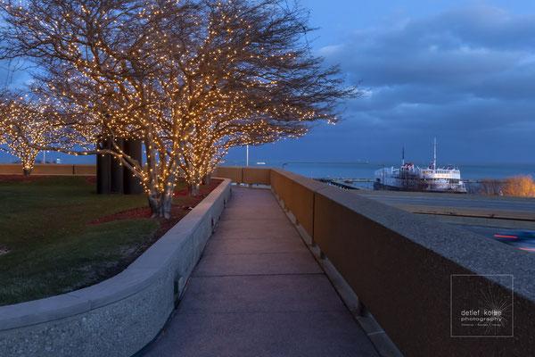 Chicago Harbor Point, Blick zum Lake Michigan