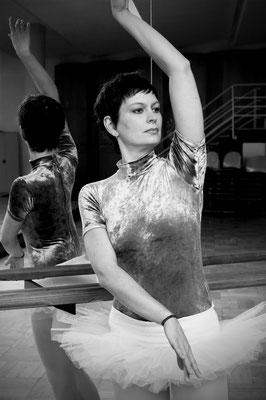 Ballettprobe in der Chemnitzer Stadthalle