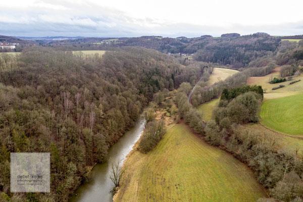 die Elster Nähe Liebau im Vogtland