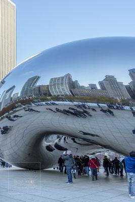 Chicago Millenium Park, Cloud Gate