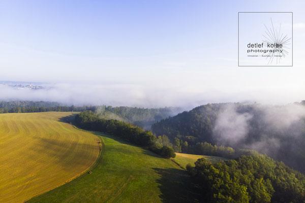 Nebel über Ostthüringen