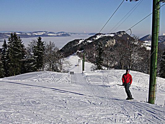 Skifahren Jura Balmberg und Grenchenberg