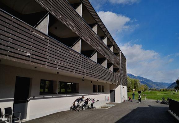 Golfhotel im Wallis