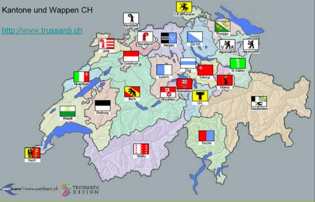 Kantone: Solothurn - ideal für Sternreisen