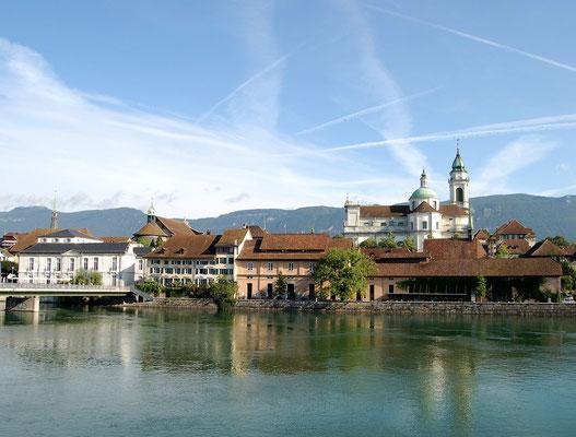 Sternreisen Schweiz - Solothurn Wasseramt ist ideal - auch mit Minibus, Car und ebike!