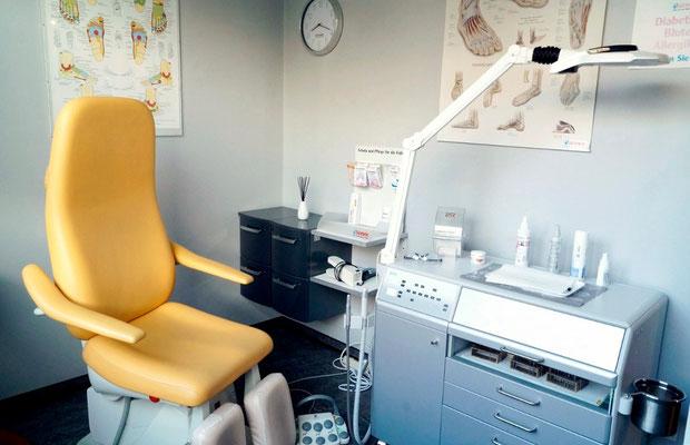 Behandlungszimmer 1 Podologiepraxis Fleckenstein
