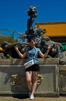 В зоне Китай, с дракончиками