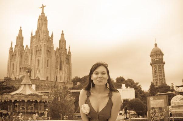 Маша на центральной площади
