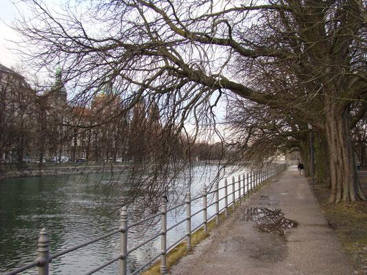 Каналы севернее Мариенплаца