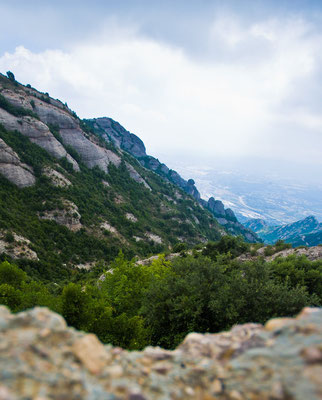 Горы Монсеррата