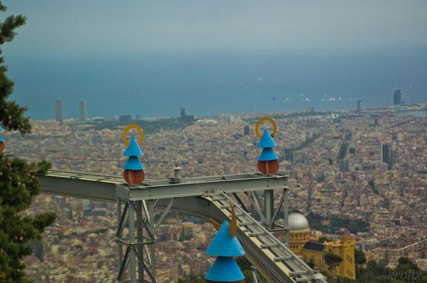 Вид со смотровой на Барселону