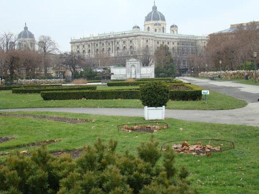 Гуляя по городу... парк у парламента